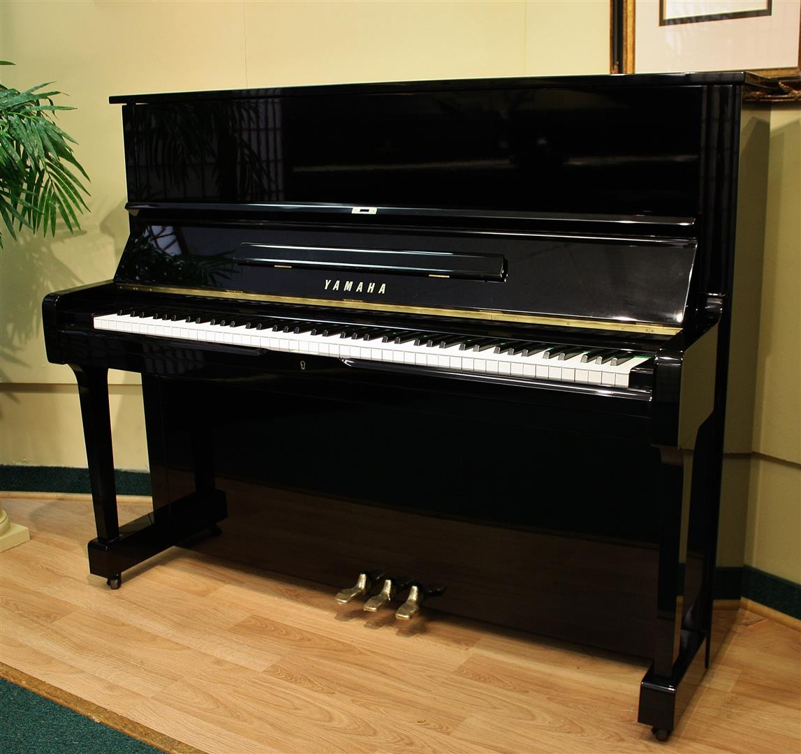 Four star reconditoned yamaha yamaha u1 upright piano 48 for Yamaha piano upright