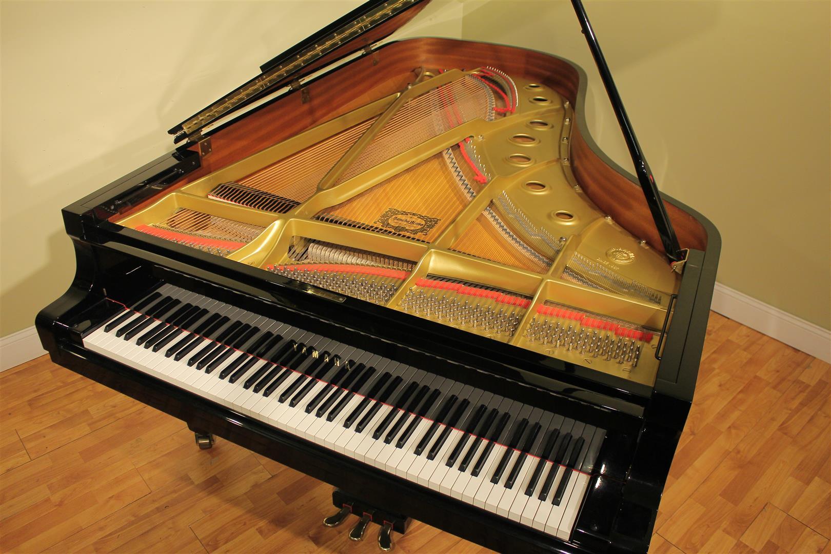 yamaha c7 7 39 6 39 39 semi concert grand piano 1991 ebay. Black Bedroom Furniture Sets. Home Design Ideas