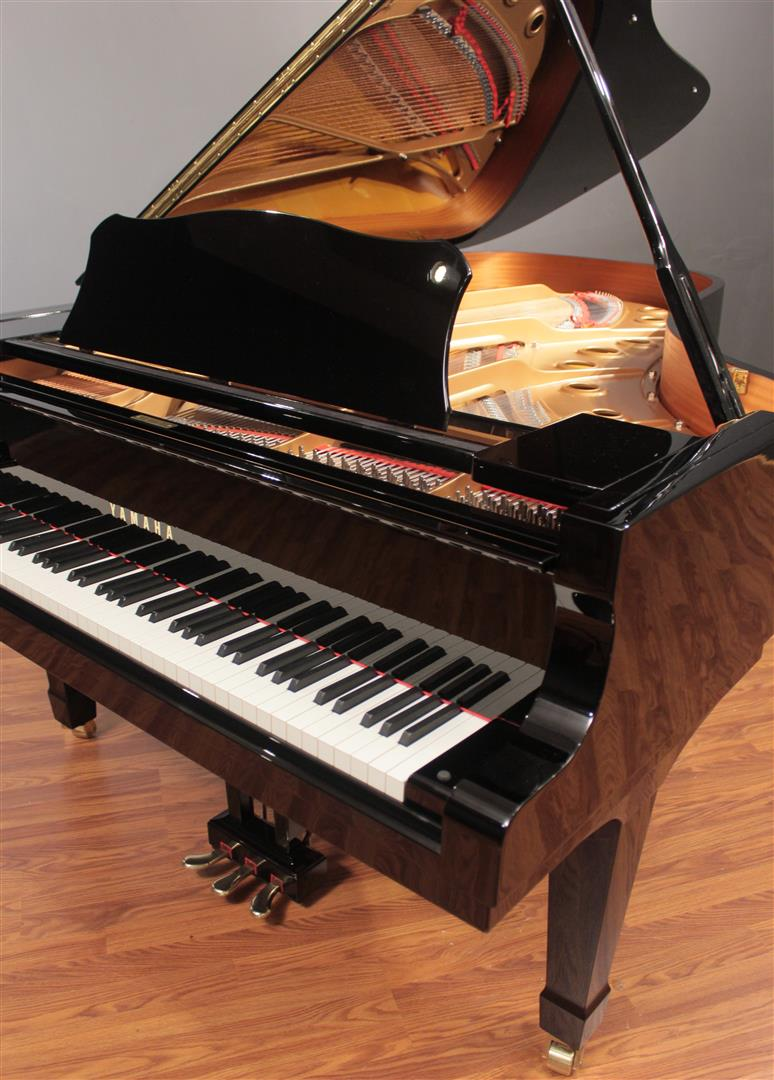 yamaha c7 7 39 6 39 39 player grand piano pianodisc qrs ebay. Black Bedroom Furniture Sets. Home Design Ideas