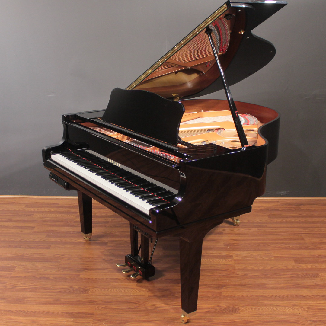 2014 yamaha disklavier e3 gc1 5 39 3 39 39 player baby grand for Yamaha disklavier grand piano