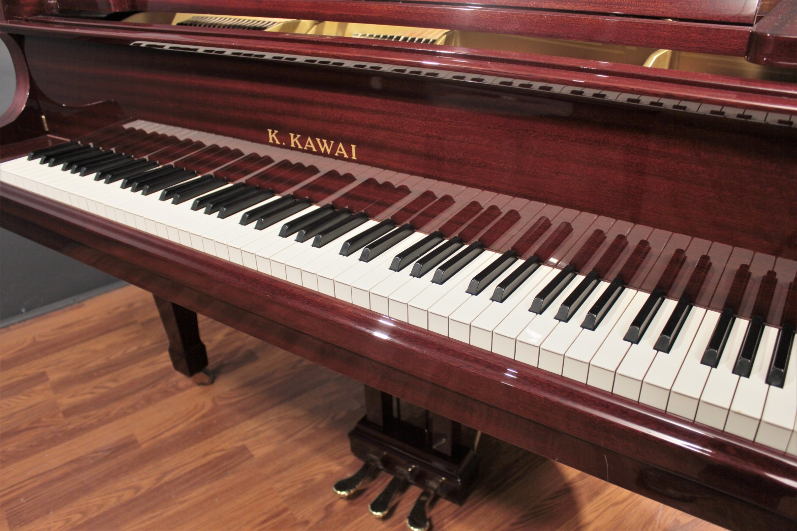Kawai RX-1 5'5'' Player Grand Piano Ribbon Mahogany PianoDisc Prodigy