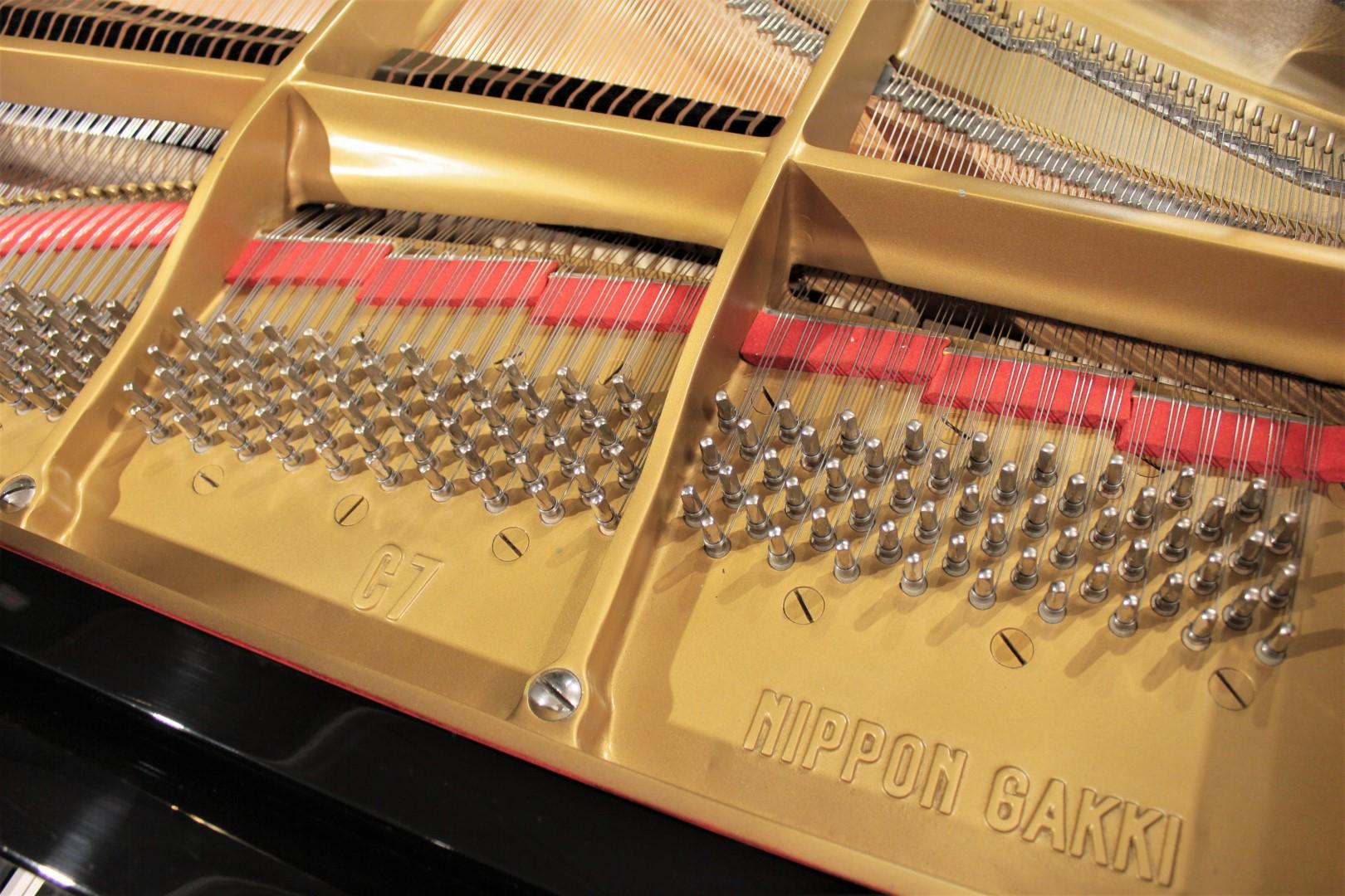 yamaha c7 7 39 4 39 39 semi concert grand piano grand pianos. Black Bedroom Furniture Sets. Home Design Ideas