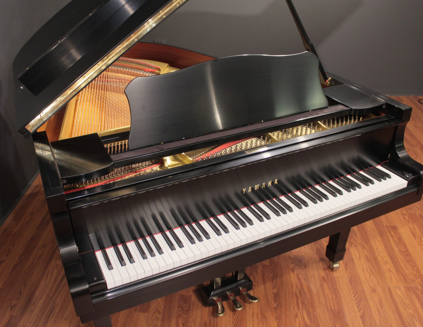 yamaha grand piano. yamaha g3 6\u0027 grand piano ebony satin